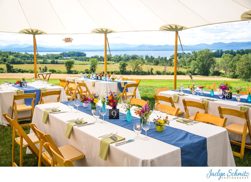 sail cloth tent wedding reception vermont tent company