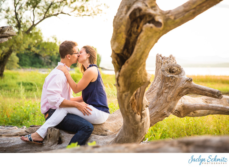 Driftwood Engagement Session VT