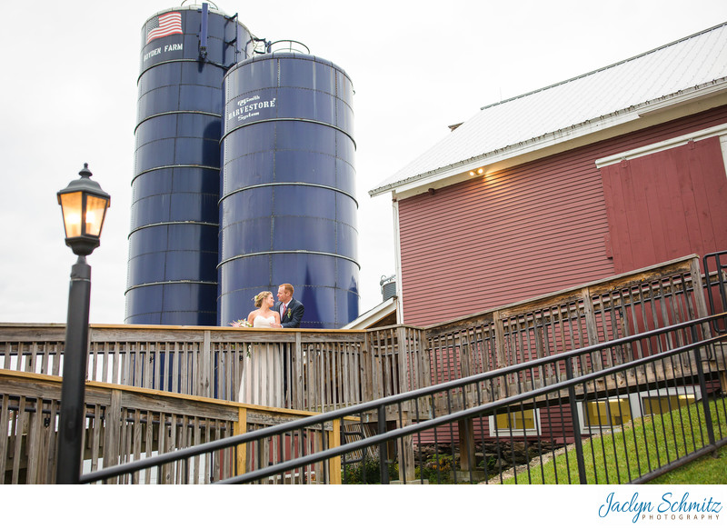 Farm silos wedding vermont