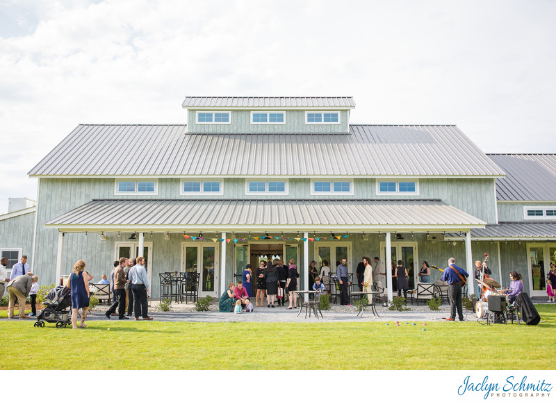 Modern upscale new wedding barn Vermont