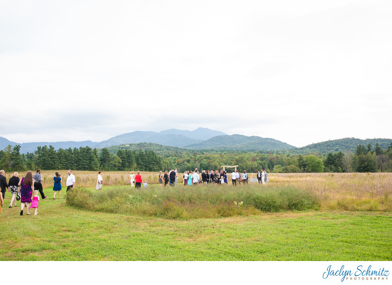 Smuggler's Notch Wedding Ceremony