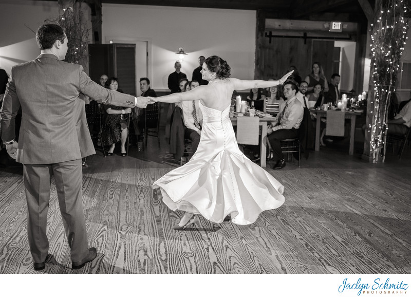 Choreographed first dance Mountain Top Inn