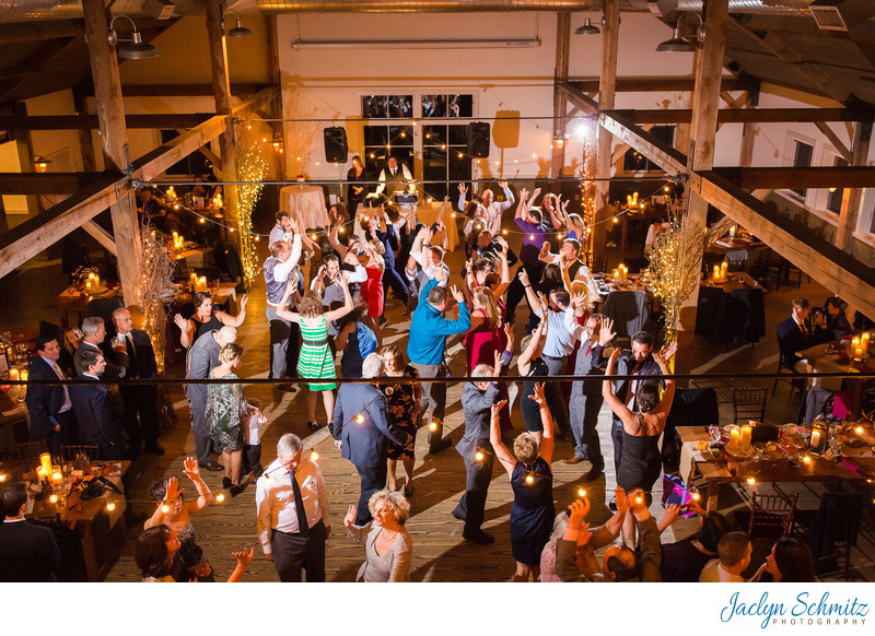 Mountain Top Inn barn loft wedding