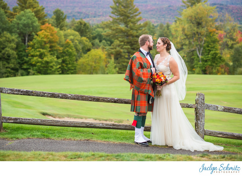 Wedding photos Lake Placid Golf Club