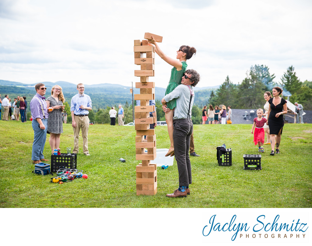 summer camp wedding activities Vermont