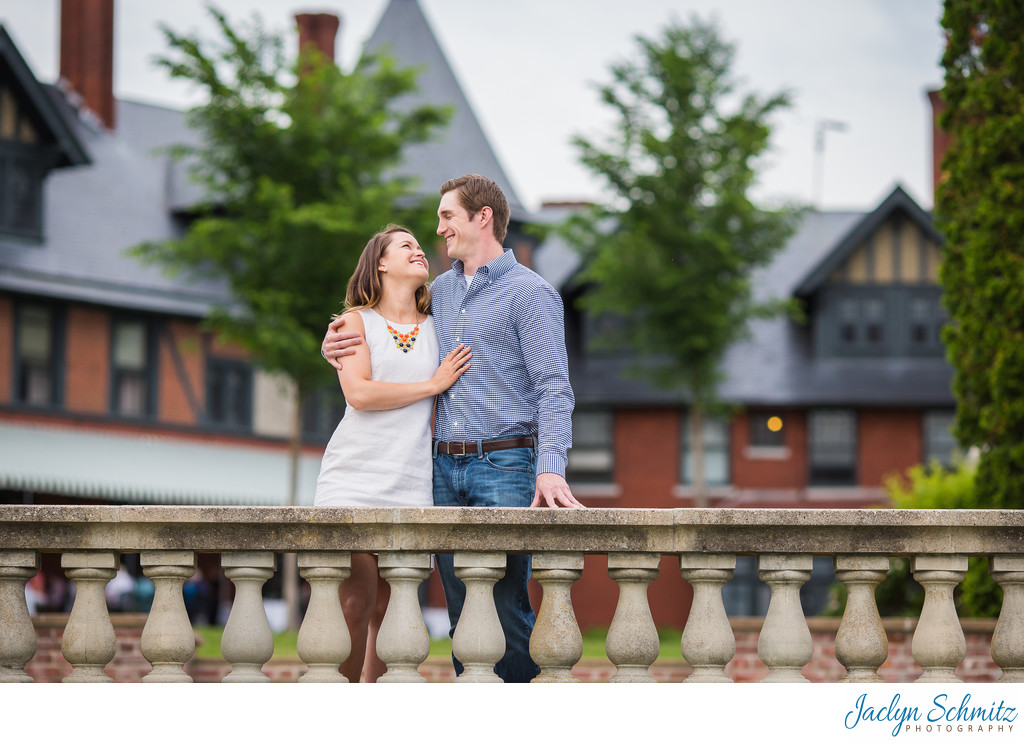 Inn at Shelburne Farms Engagement Session