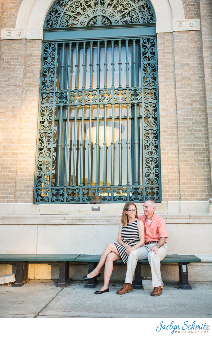 One Main Street Burlington Engagement Session