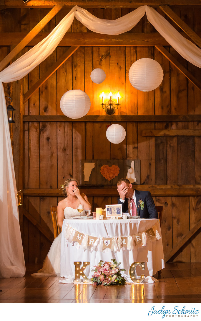 Reception photos Boyden Farm Wedding