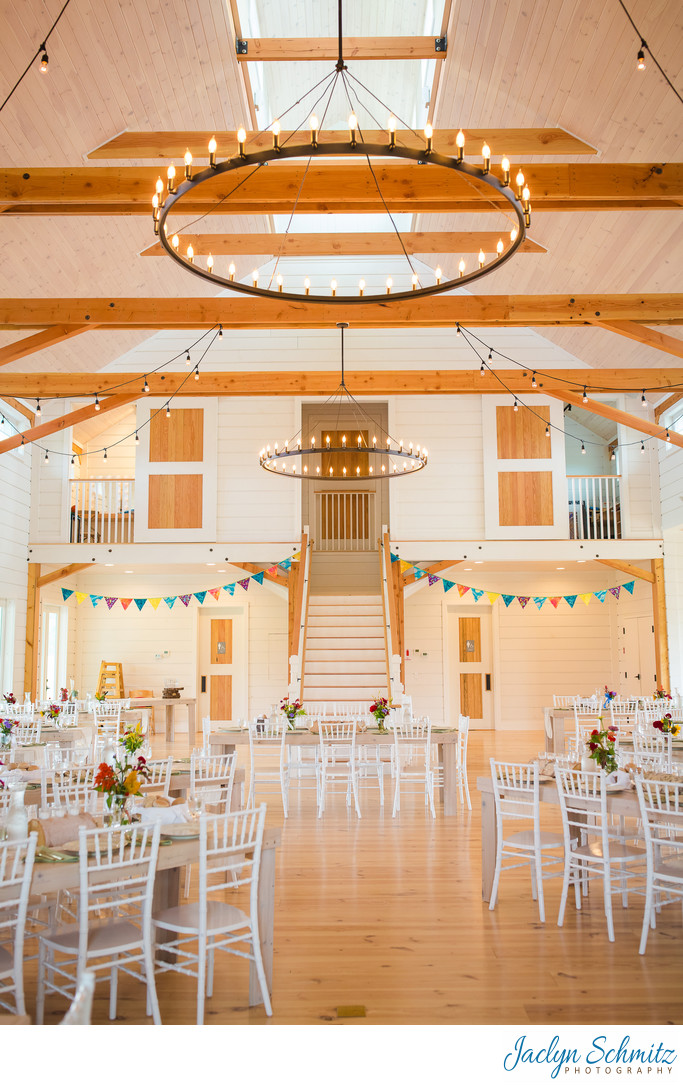 Brand new wedding barn Vermont