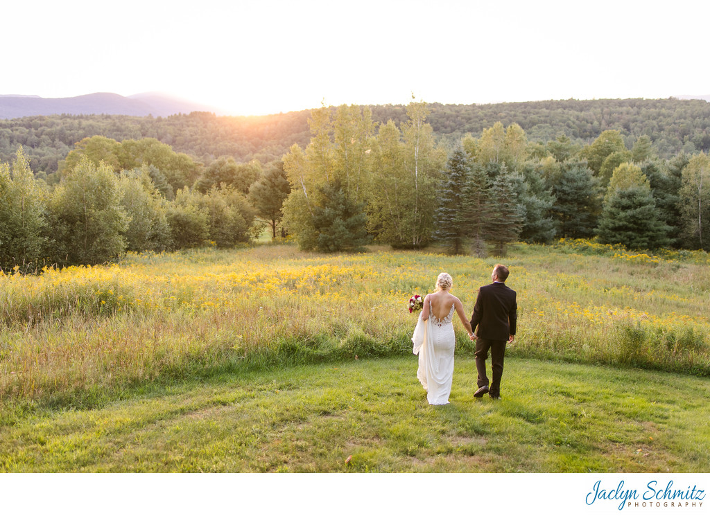 Sunset elopement Indiana photographer