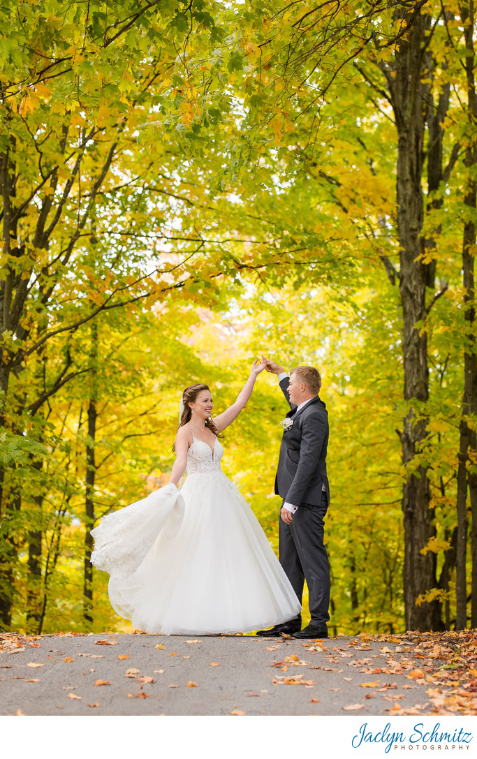 October wedding in Indiana
