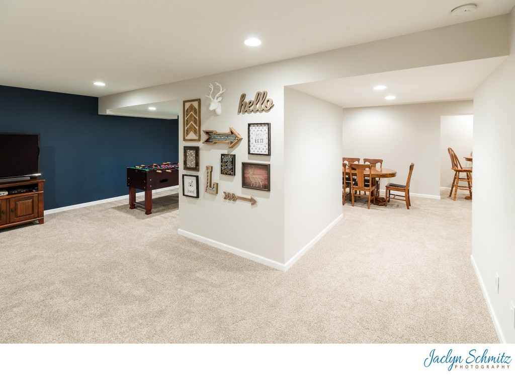 Finished basement