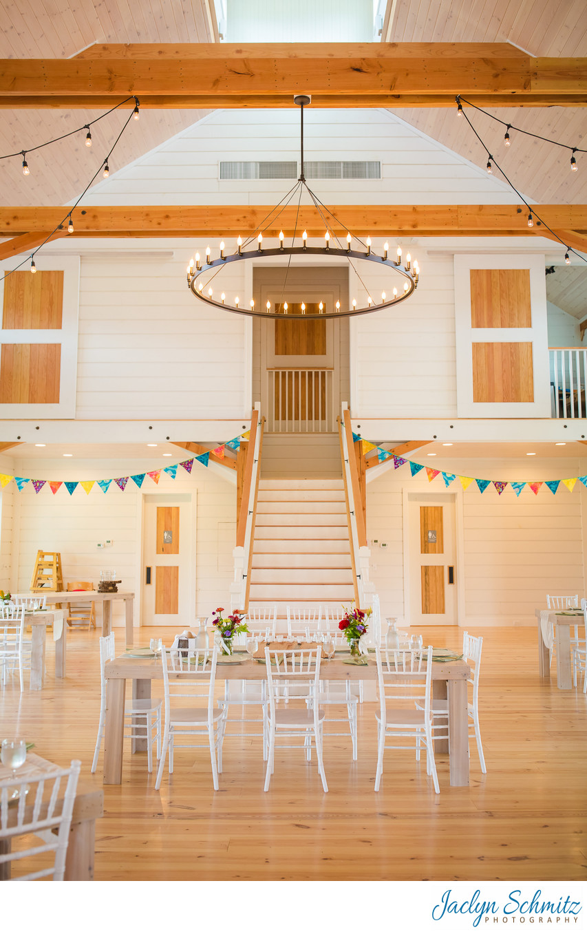 White shiplap wedding barn VT