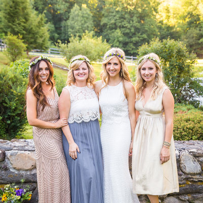 Arlington VT outdoor wedding