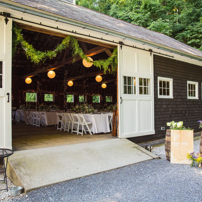 West Mountain Inn Wedding Barn