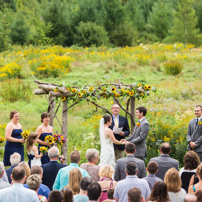 Mansfield Barn Ceremony
