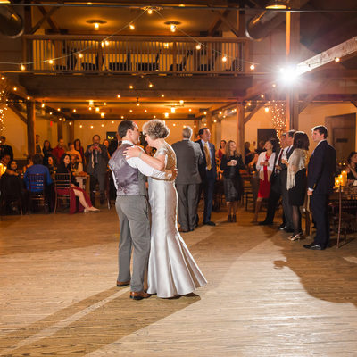 Mountaintop Inn wedding reception