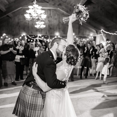 Scottish wedding Lake Placid NY
