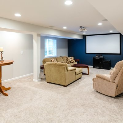 Modern updated basement