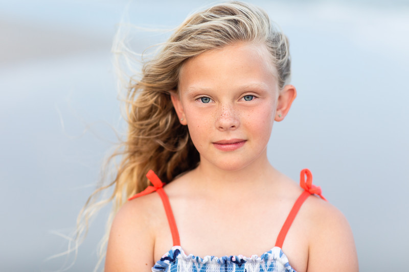 Kids Portraits Topsail Beach North Carolina