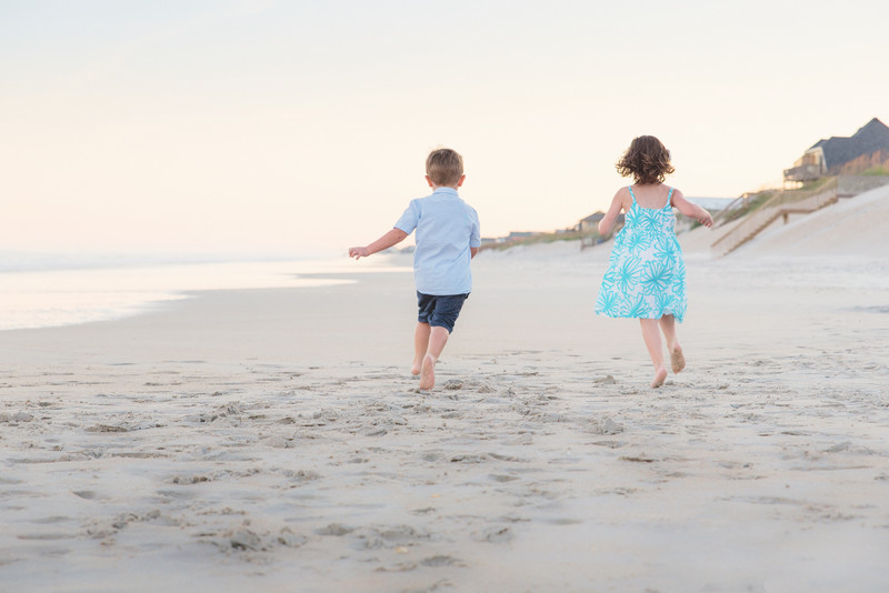 Fun Family Photographers Topsail Beach