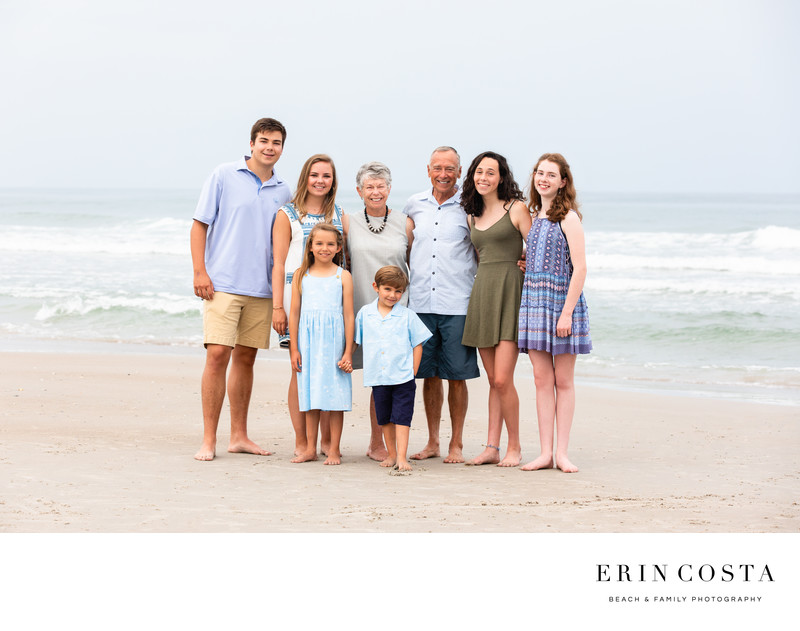 Topsail Beach Family Photos