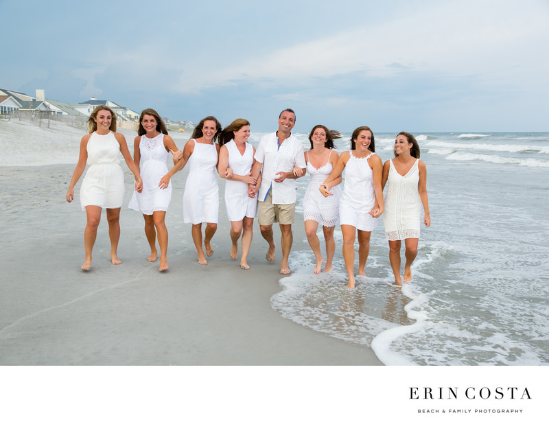 Extended Family Photos Topsail Island