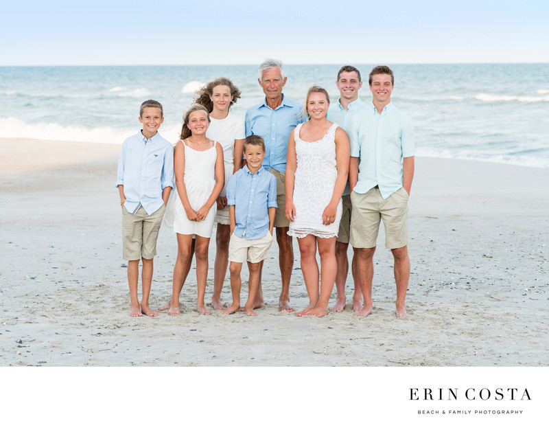 Family Pictures Topsail Island