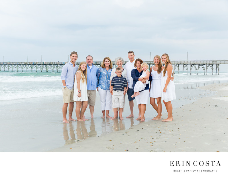Surf City Pier Family Photos