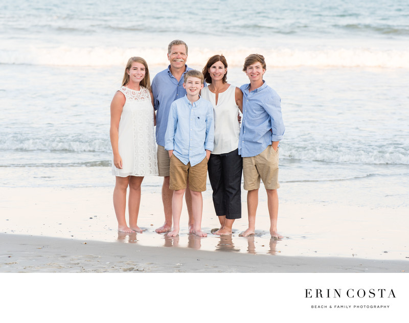 Adorable Family Photos Topsail Beach
