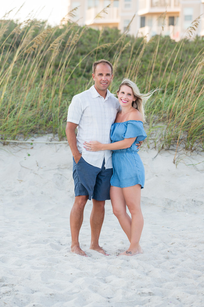 Couples Portraits Topsail Beach