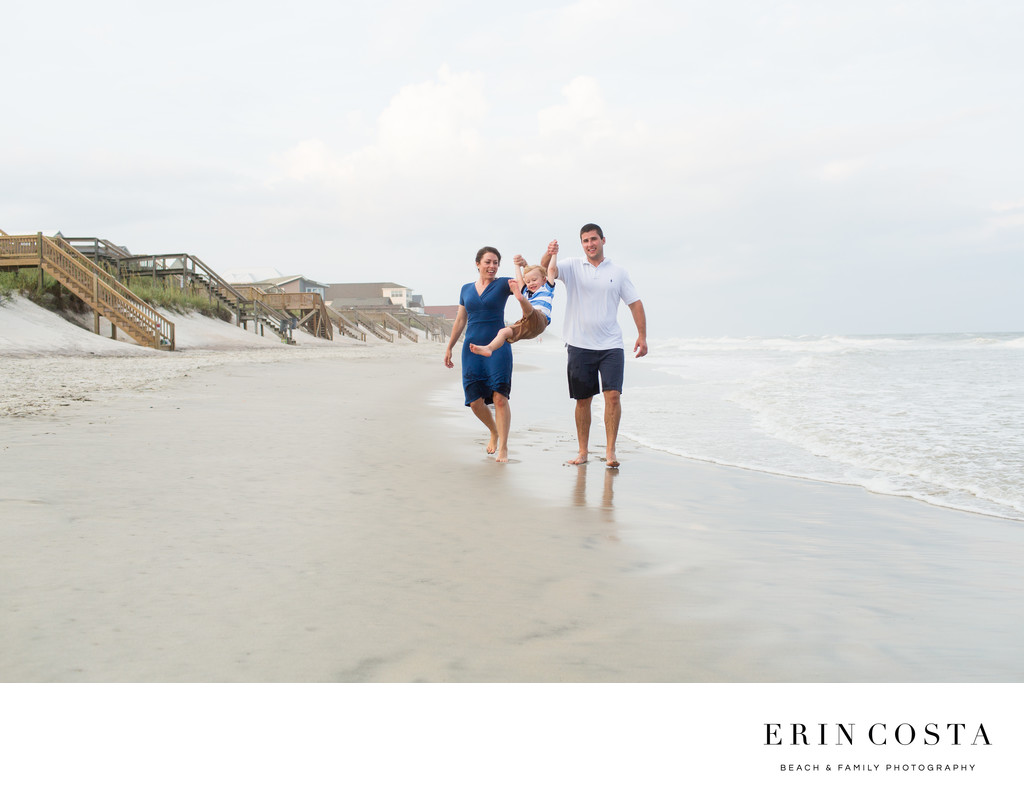 Candid Family Photos Topsail Island