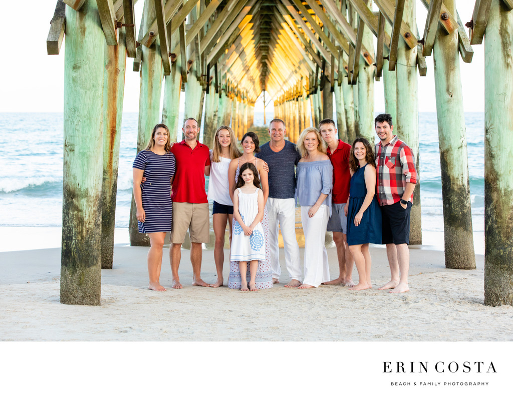 Family Photos Surf City Pier