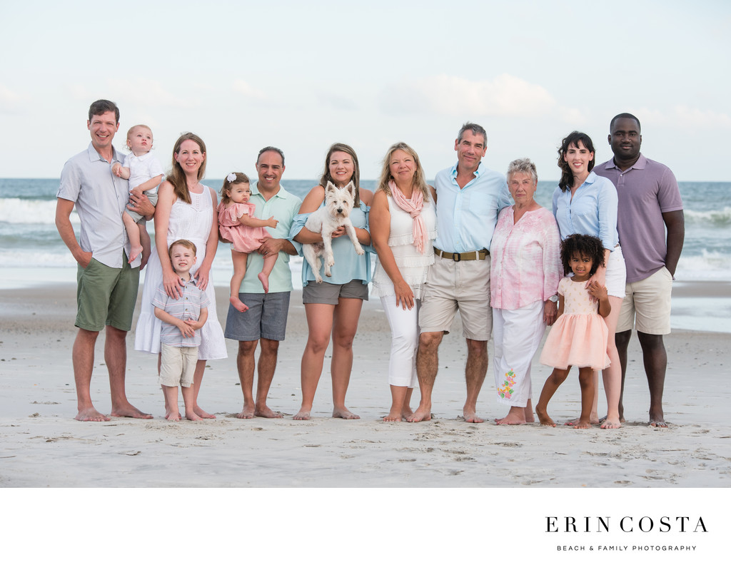 Family Pictures at Topsail