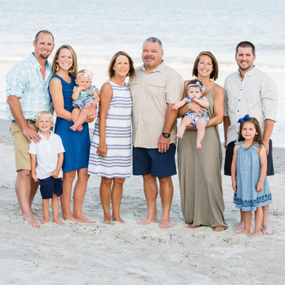Topsail Island Family Pictures