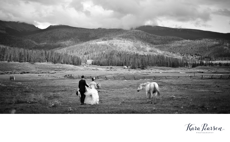 Wedding Portrait At Devil's Thumb Ranch