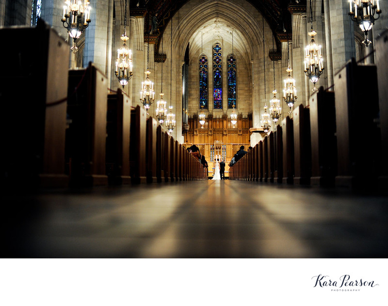 Chicago Wedding Ceremony At The Fourth Presbyterian Church