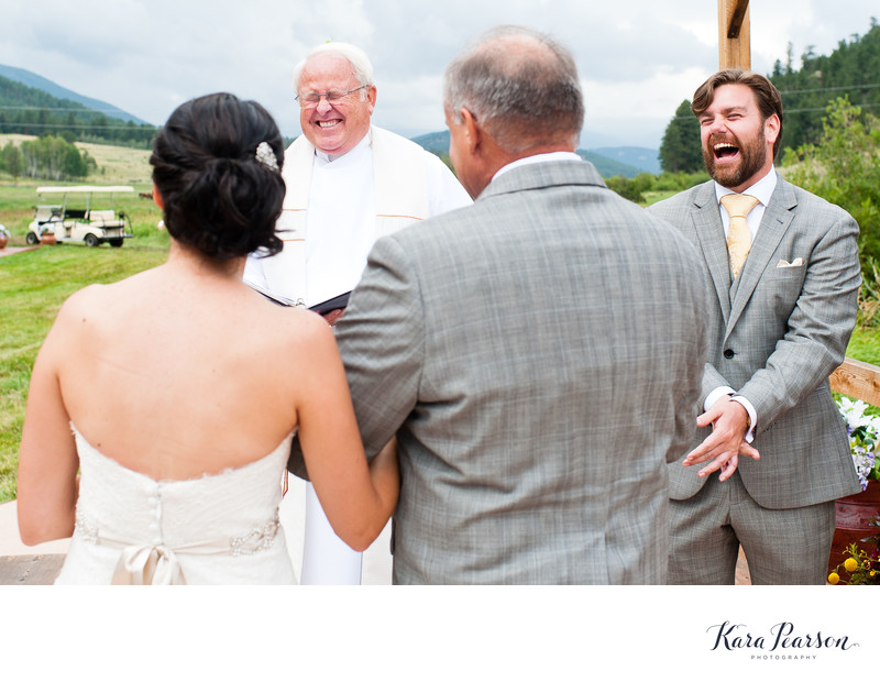 Deer Creek Valley Ranch Wedding Ceremony
