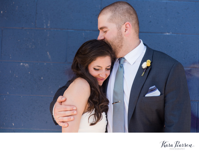 Wedding Portraits In Denver's Santa Fe Arts District