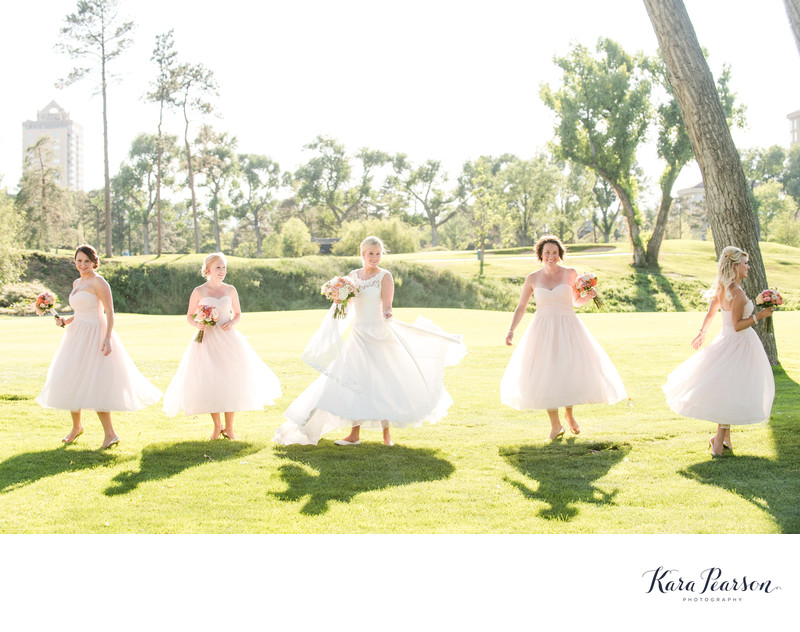 Bridesmaid Portrait At Denver Country Club