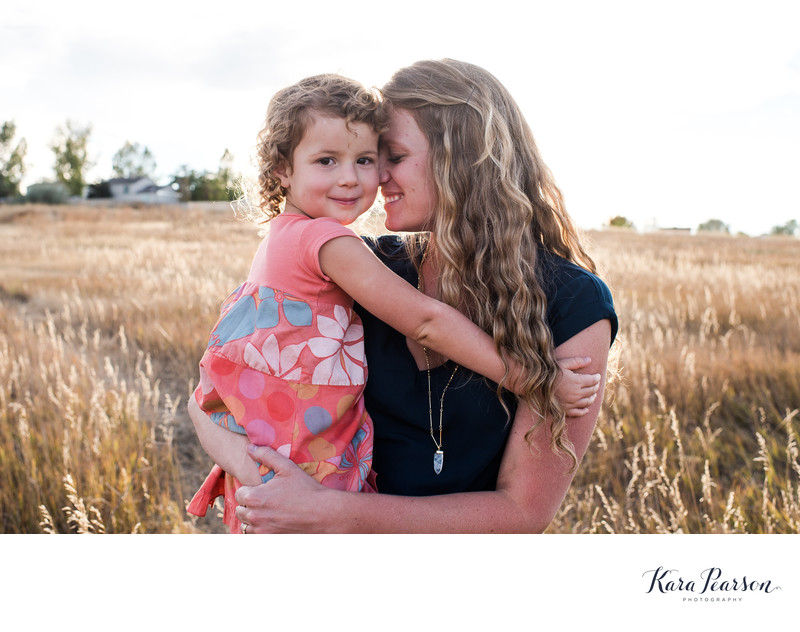 Natural Photographs Of Mother With Daughter In Aurora
