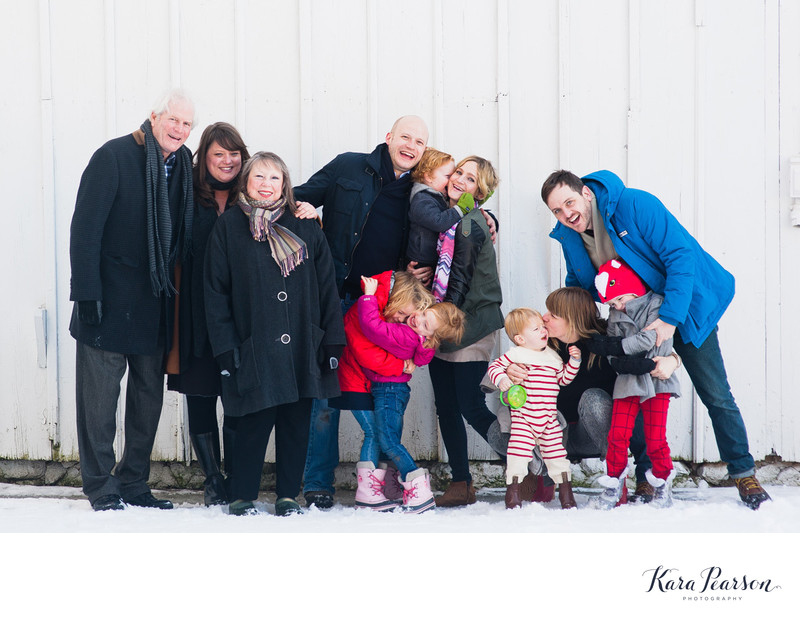 Large Family Portraits In Chicago