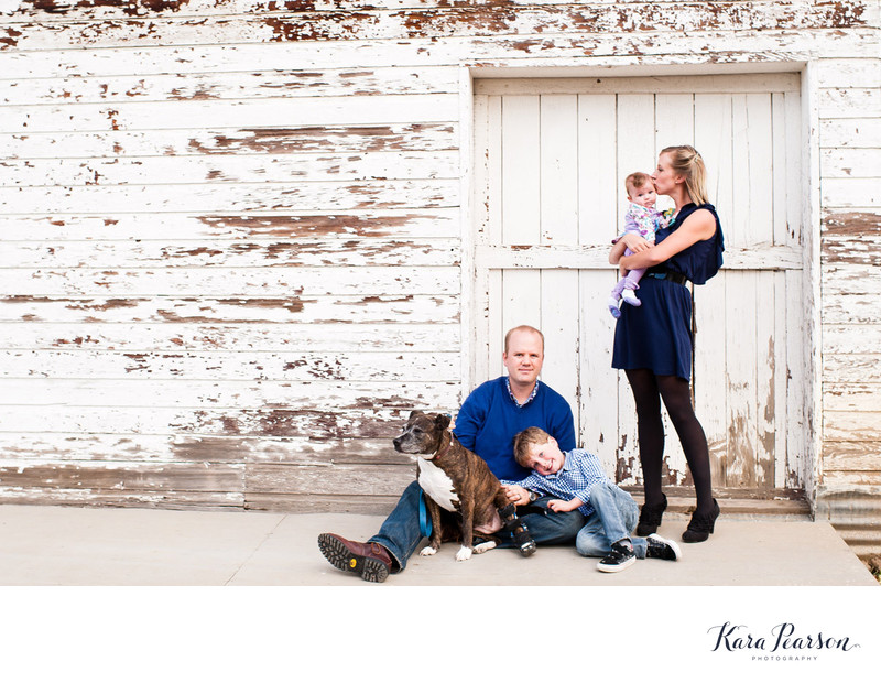 Lifestyle Family Portraits In Colorado