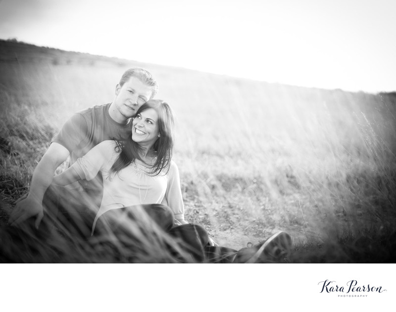 Standley Lake Engagement Photo