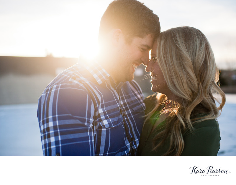 Winter Engagement Photography In Denver