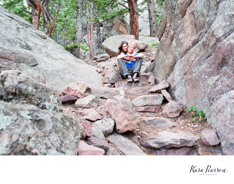 Boulder Hiking Portrait Session