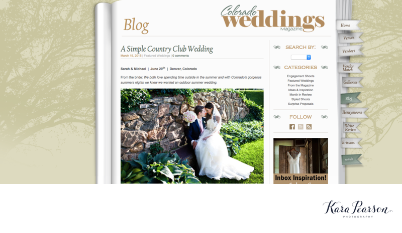 Denver Country Club Blog On Colorado Weddings