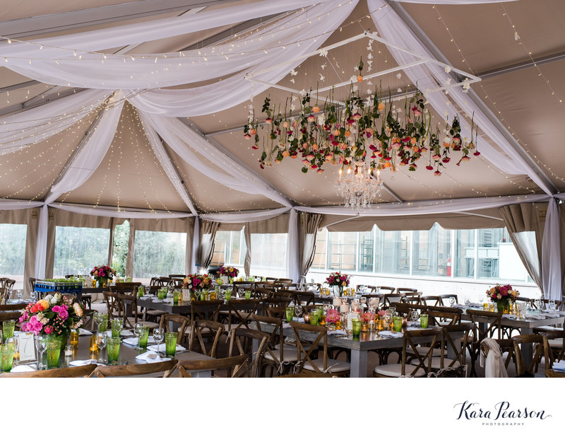 Denver Botanic Gardens Tented Wedding Reception Photos