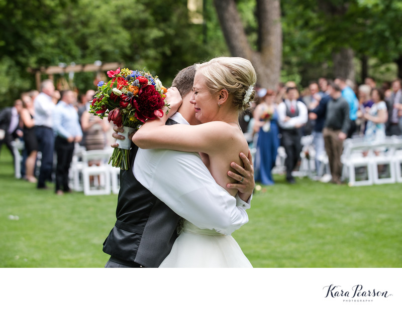 Emotional Varsity Lawn CU Wedding