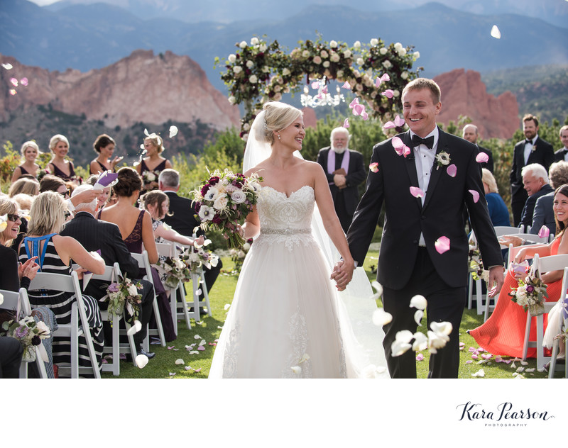 Best Garden of the Gods Club and Resort Wedding Photography